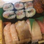 新中野にある「きら星」で持ち帰り寿司をお願いした