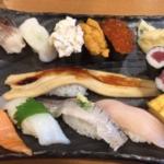 沼津魚がし鮨 メイワン浜松店でランチに寿司と餃子を食べた