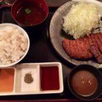 先斗町にある牛カツ専門店 京都勝牛で夕飯を食べる