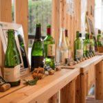 やまなしプラザの物産館に併設されているオープンカフェ