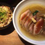 早稲田にある巌哲でラーメンを食べる