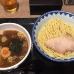 羽田空港の大勝軒でつけ麺を食べる