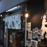 中野駅北口でてすぐの上海麺館でつけ麺を食べる