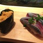 中野駅南口から徒歩5分の「魚がし鮨 中野南口店」に行ってきた