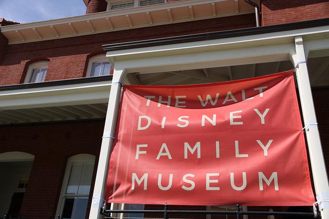 サンフランシスコにある The Walt Disney Family Museumに行ってきた